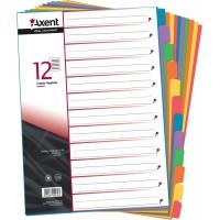 Разделители картонный A4 12 разделов