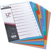 Разделители пластиковые A4 12 разделов
