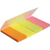 Стикеры-закладки бумажные 20*50мм, прямоугольные