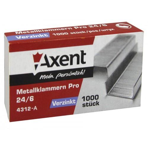 Скобы Axent Pro 24/6