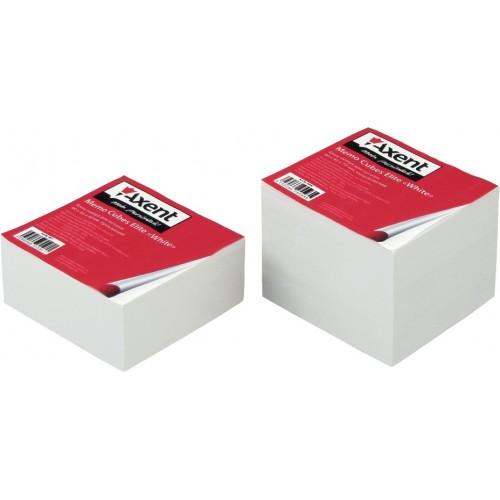 Бумага для заметок Axent Elite White, 90х90х40 мм., не скл., белая