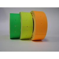 Этикет-ценники прямоугольные 22*12мм, цветные, 500шт./рул.