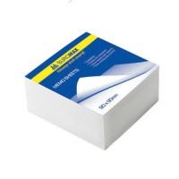 Бумага для заметок Buromax, 90х90 мм., 500 л., не скл., белая