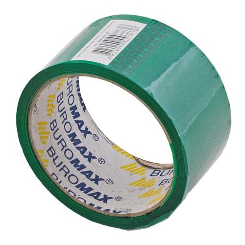 Клейкая лента упаковочная Buromax, 48мм x 35м, в ассортименте цветов