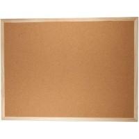 Доска пробковая 45*60см, деревянная рамка