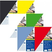 Обложка для переплета картонная глянцевая А4, 20 шт. /уп.