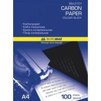 Бумага копировальная черная А4, 100 листов