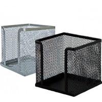 Куб для бумаги 90*90*90мм, металлический