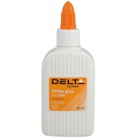 Клей ПВА Delta by Axent 100 мл, с колпачком-дозатором