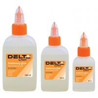 Клей канцелярский жидкий Delta by Axent 100 мл, с колпачком-дозатором