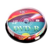 Диск DVD+R, 4,7Gb 16х Shrink (10)