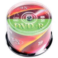 Диск DVD+R, 4,7Gb 16х Cake (100)