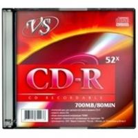 Диск CD-R,700Mb, 52х, Slim