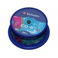 Диск CD-R,700Mb,52х,80min,Cake(50),Extra