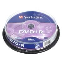 Диск DVD-R,4.7Gb,16х, Cake(10), Silver
