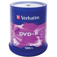 Диск DVD+R,4.7Gb,16х, Cake(100)