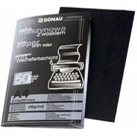 Бумага копировальная черная А4, 50 листов