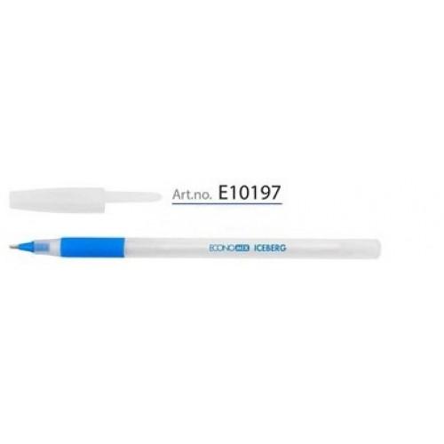 Ручка масляная Iceberg, 0,7мм, синяя