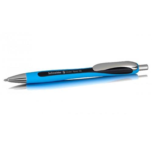 Ручка масляная Schneider Slider Rave, синяя