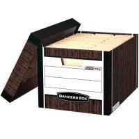 Короб для архивных боксов R-Kive, коричневый 325*285*385мм
