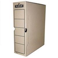 Архивный бокс 100мм R-Kive, коричневый