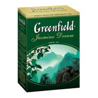 "Чай зеленый Greenfield ""Jasmine Dream"", листовой, 100 гр."