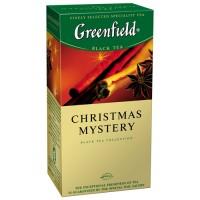 """Чай травяной Greenfield """"Christmas Mystery"""", (25 пакет. в упак.)"""