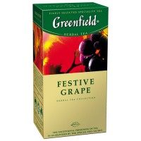"Чай травяной Greenfield ""Festive Grape"", (25 пакет. в упак.)"