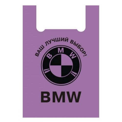 Пакеты полиэтиленовые BMW 40*60 см, 50 шт./уп.