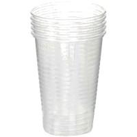 Стаканы пластиковые 200мл, 100 шт./уп.