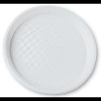 Тарелки пластиковые 205мм, 100 шт./уп.