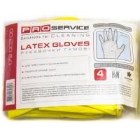 Перчатки резиновые хозяйственные PRO, 2 пары