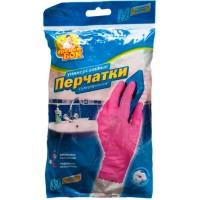 Перчатки резиновые хозяйственные Фрекен Бок суперпрочные