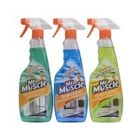 Средство для мытья окон Мистер Мускул с распылителем, в ассортименте
