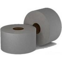 Туалетная бумага Джамбо, серая 1-слойная