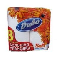 Туалетная бумага Диво, 8 рулонов в упаковке