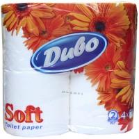 Туалетная бумага Диво Софт, 4 рулона в упаковке
