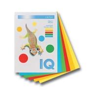 Цветная бумага IQ A4 80г/м2, 500л насыщеные цвета