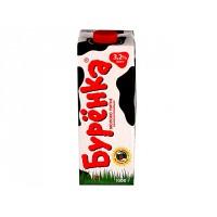 Молоко Буренка 3,2% 1л