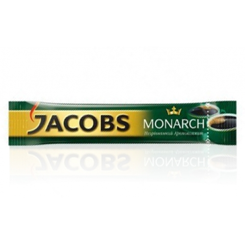 Кофе растворимый Jacobs Monarch, 26*2г стик