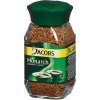 Кофе растворимый Jacobs Monarch, 190г, банка