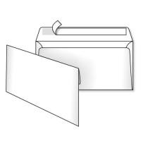 Конверт DL (E65), с отрывной лентой, белый