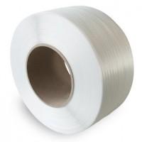 Лента упаковочная полипропиленовая 16*0,8мм, белая, 1,5 км
