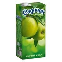 """Нектар Садочок """"Яблочный"""", 1л."""