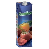 """Сок Sandora """"Овощной"""", 1л."""
